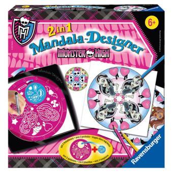 Mandala-Designer-2-en-1-Monster-High-Ravensburger-jeu-occasion-ludessimo-e-46-1413
