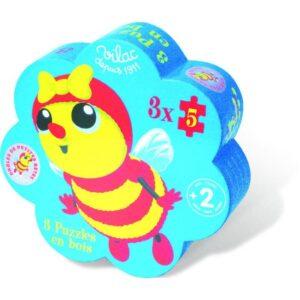 puzzle-en-bois-vilac-3-5-pièces-betes-jeu-occasion-ludessimo-b-13-0860860