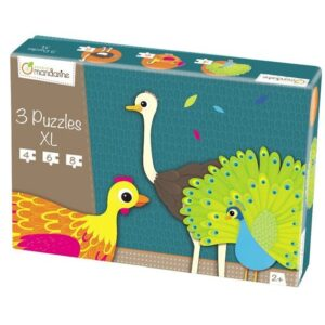 3-puzzles-xl-animaux-a-plumes-avenue-mandarine-jeu-occasion-ludessimo-b-13-4277