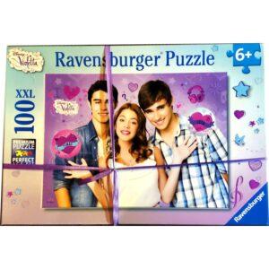 Puzzle-100-pieces-Nouveau-depart-de-Violetta-Ravensburger-jeu-occasion-ludessimo-b-13-6734
